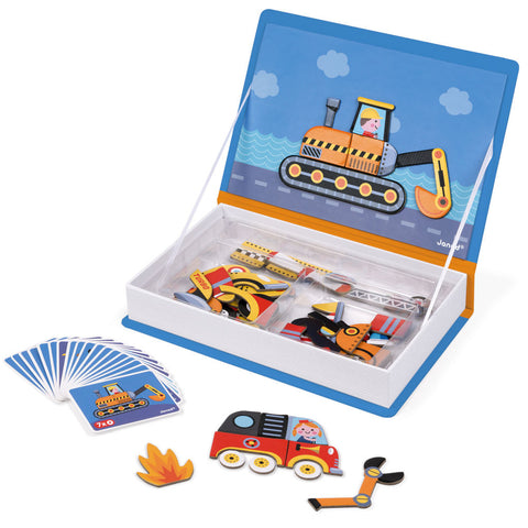 Magnetic Puzzle Book, Vehicles