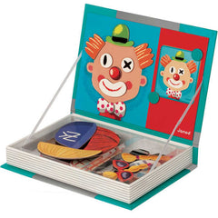 Magnetic Puzzle Book, Funny Faces