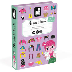 Janod Magnetibook Girl's Outfits