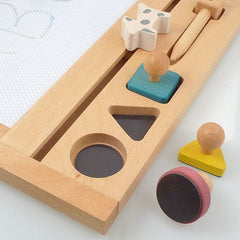 Wooden House Drawing Board