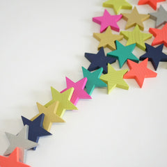 Tanabata 100 Wooden Star Domino Set
