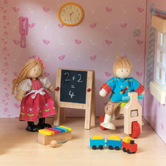 Le Toy Van Doll House Play Time Set
