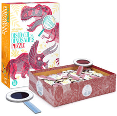 LONDJI Discover the Dinosaurs Puzzle with Magic Glasses