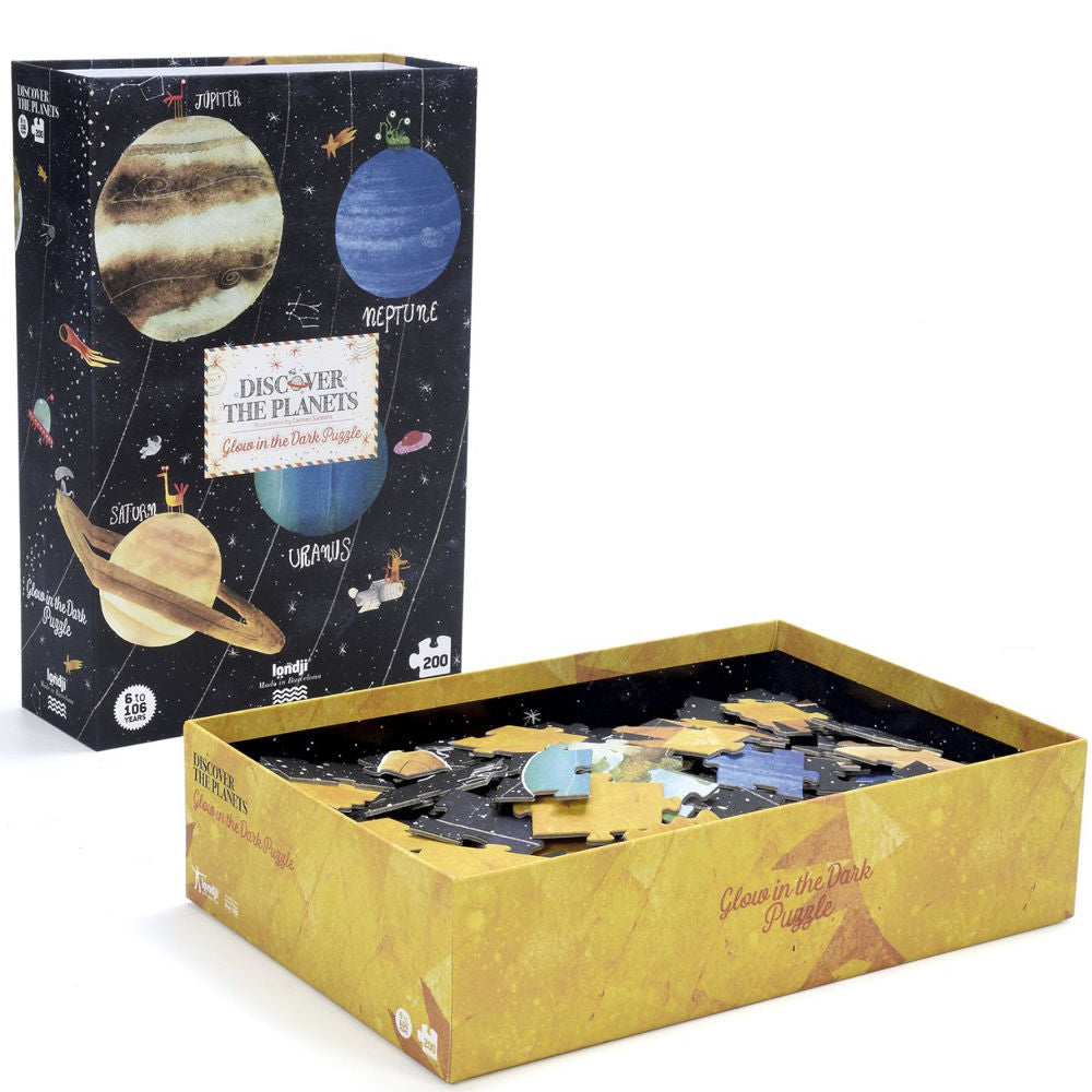 LONDJI Discover the Planets Glow-in-Dark Puzzle
