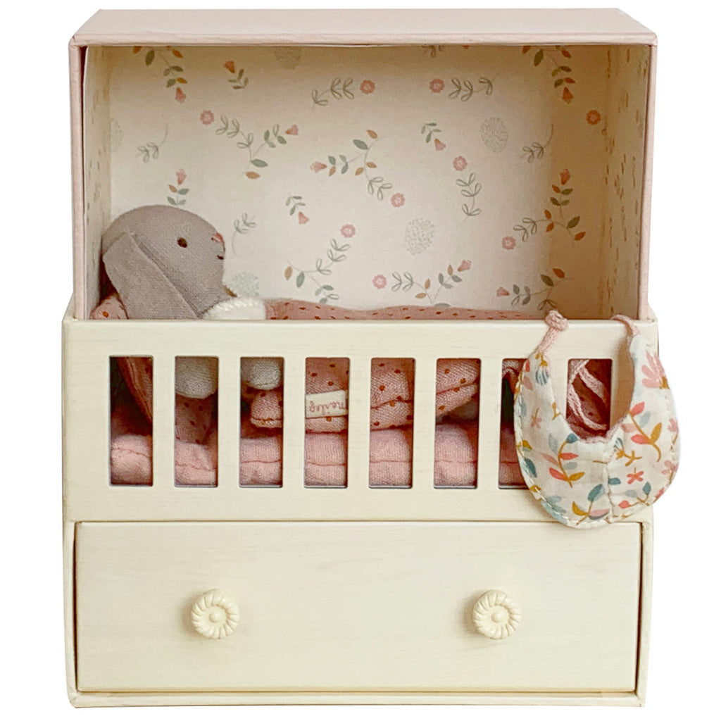 Maileg Music Baby Room with Micro Bunny