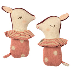 Maileg Bambi Rattle, Rose