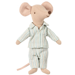 Maileg Big Brother Mouse in a Box, Pajama