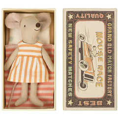 Maileg Big Sister Mouse in a Box, Stripe
