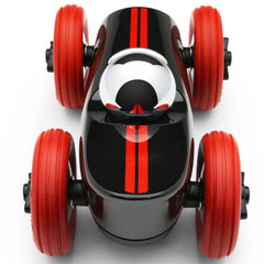 Playforever Midi Race Car Buck Black with Silver Helmet