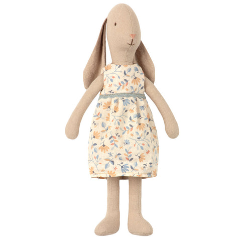 Maileg Flower Dress Bunny, Size 2,  10 inches