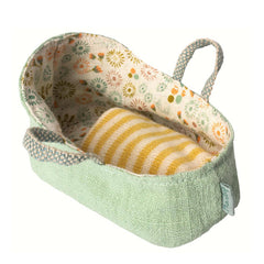 Maileg Doll Carry Cot, My size, Mint
