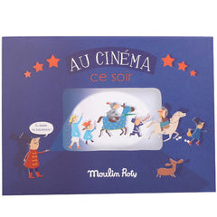Moulin Roty Cinema Box with Projector and Screen