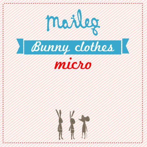 Maileg Clothes for Micro Bunny, Rabbit and Big Mouse Doll