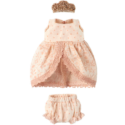Maileg Princess Dress for Big Sister Mouse, Rose