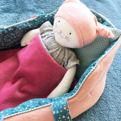 Moulin Roty Mirabelle Large Doll Carry Cot