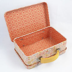 Maileg Metal Suitcase for Dolls, Flower