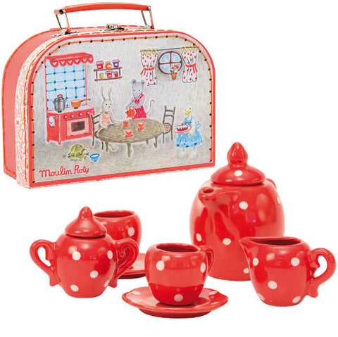 Moulin Roty La Grande Famille Tea Set