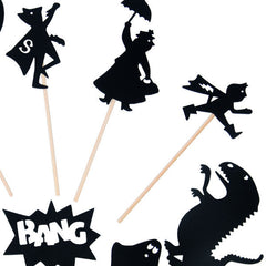 Moulin Roty Hero Shadow Puppets