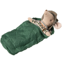 Maileg Big Brother Hiking Mouse with Sleeping Bag