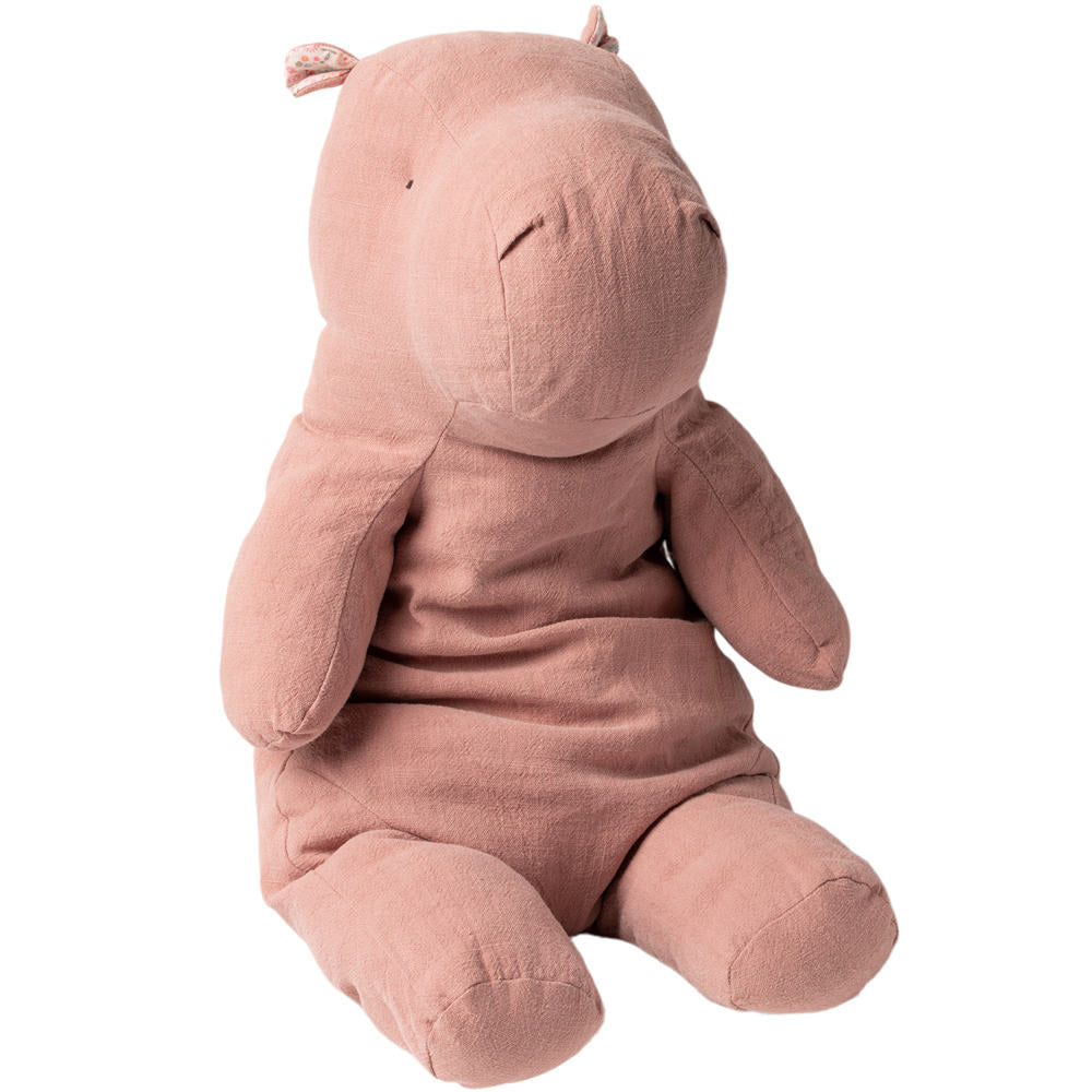 Maileg XL Dusty Rose Hippo