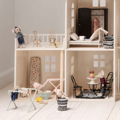 Maileg Doll House Clothes Rack with Pegs