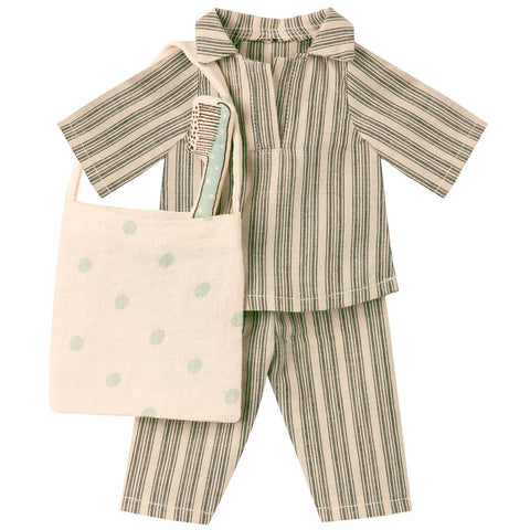Maileg Medium Mouse Sleep-Over Set, Boy
