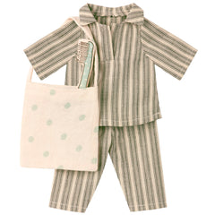 Maileg Jumbo Mouse Sleep-Over Set, Boy