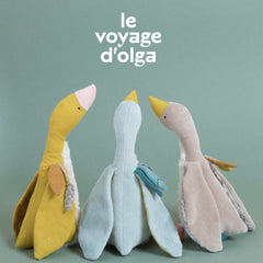 Moulin Roty Le Voyage d'Olga Plumette the Blue Goose