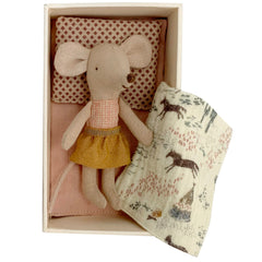 Maileg Little Sister Mouse in a Box