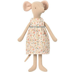 Maileg Medium Mouse, Flower Dress