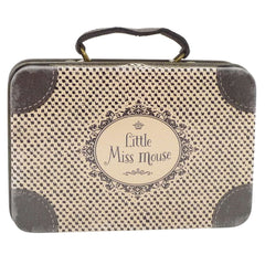Maileg Mini Metal Travel Suitcase, Little Miss