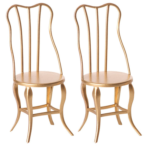 Maileg Micro Vintage Chairs ( set of 2 )