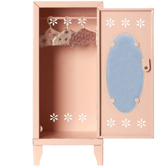 Maileg Metal Closet, Powder Pink