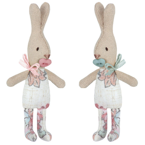 Maileg My Rabbit with Flower body, 4.5 inches