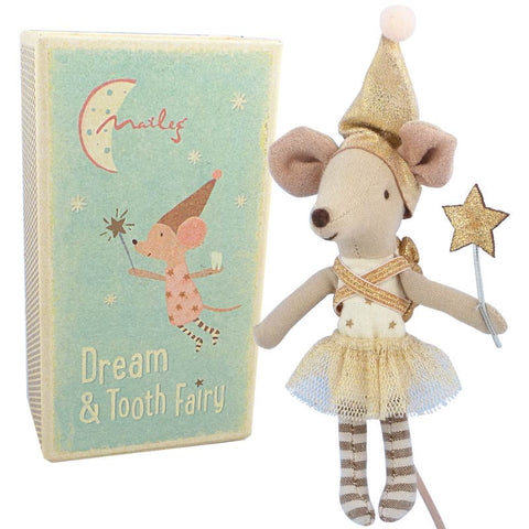 Maileg Tooth Fairy Big Sister Mouse in Box