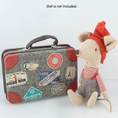 Maileg Metal Travel Suitcase for Dolls