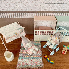 Maileg Doll House Changing Table, Micro
