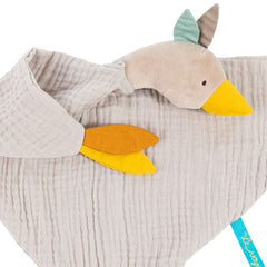 Moulin Roty Le Voyage d'Olga Goose Muslin Comforter