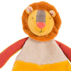 Moulin Roty Les Papoum Lion Lovey with Teether