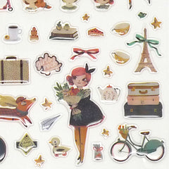 Moulin Roty Les Parisiennes Stickers