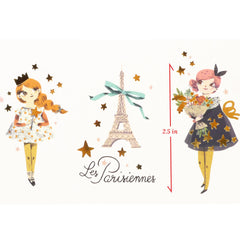 Moulin Roty Les Parisiennes Tattoos