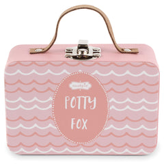 Potty Fox in a Suitcase, Girl
