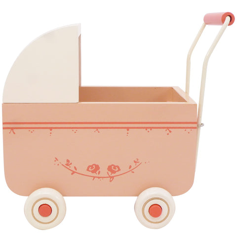 Maileg Mini Doll Pram, Pink