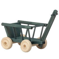 Maileg Doll House Miniature Mini Wagon, Petrol