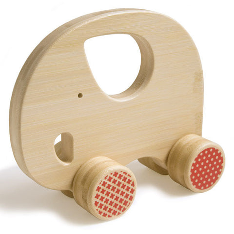 Bamboo Elephant Mighty Push Toy