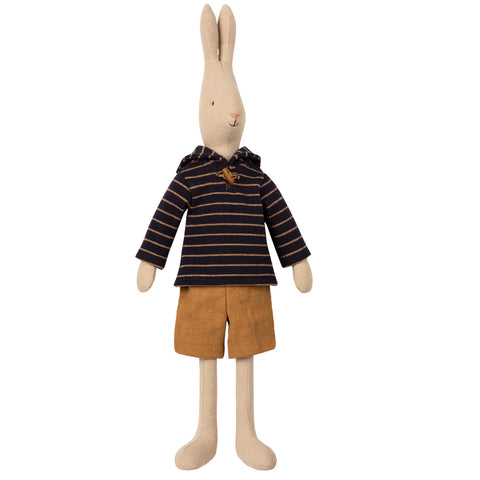 Maileg Blue Sailor Rabbit, Size 3,  19 inches