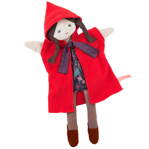 Moulin Roty Il Etait Une Fois Red Hood Hand Puppet