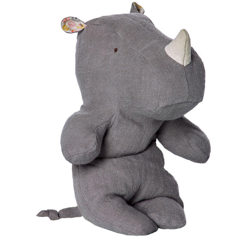 Maileg Little Rhino, Grey