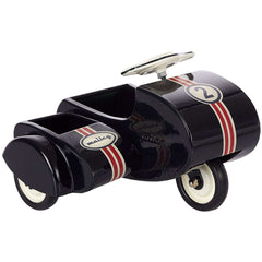 Maileg Metal Scooter with Sidecar, Black