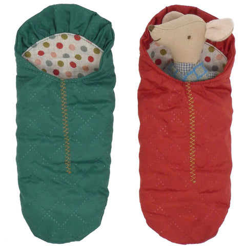 Maileg Mouse Sleeping Bag, NEW